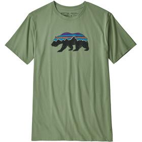 Patagonia M's Fitz Roy Bear Organic T-Shirt Matcha Green
